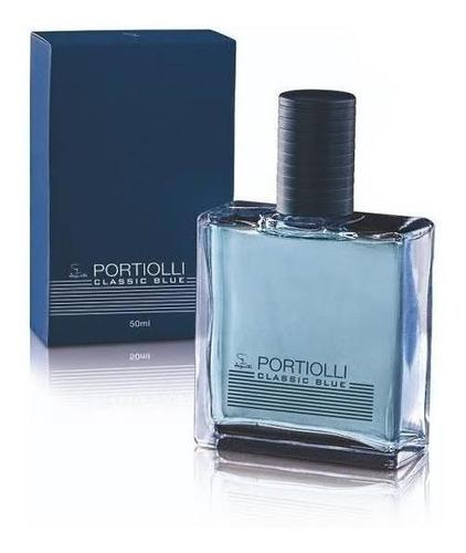 colônia portiolli classic blue 50ml jequiti