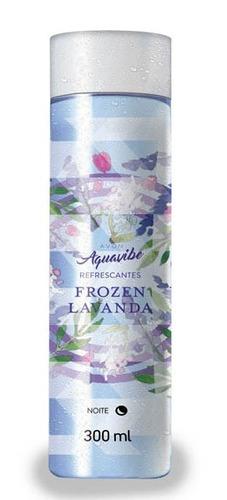 colônia refrescantes aquavibe frozen lavanda - 300ml