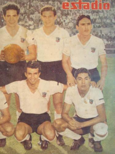 colo colo  sub campeon 1954, revista estadio