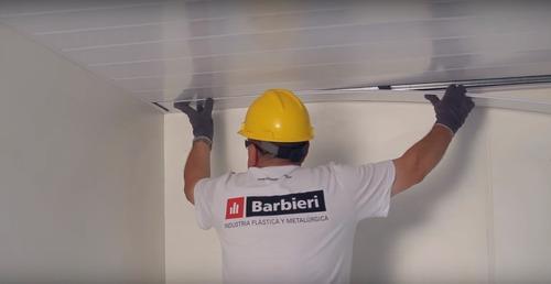 colocación cielorraso durlock drywall instalación mat y mo