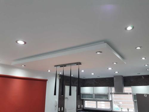 colocacion cielorraso durlock mano de obra + materiales x m2