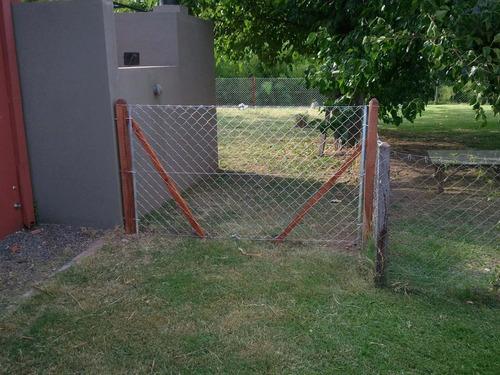 colocacion de alambrados perimetrales!   el boyerito cercos