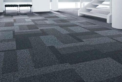 colocación de alfombras