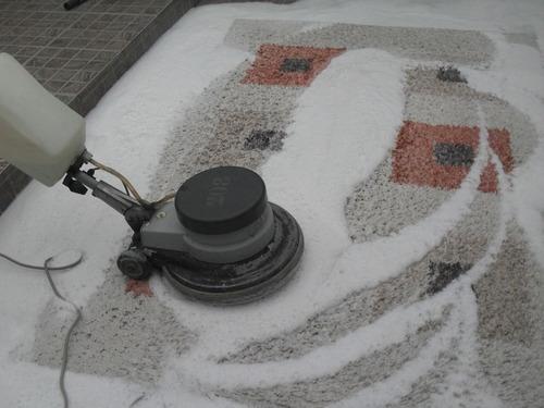 colocacion de alfombras pisos vinilicos y de goma