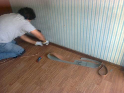 colocacion de alfombras , vinilicos , pisos de goma