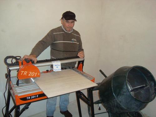 colocacion de ceramicos y porcelanato carpetas y arverturas