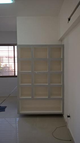 colocacion de durlock cielo raso ,tabiques,muebles
