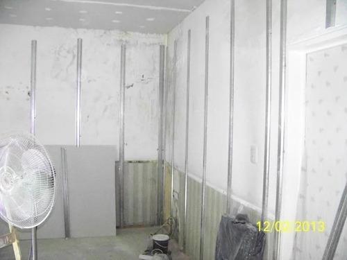 colocacion de durlock construccion en seco