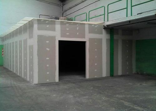 colocacion de durlock-diseño y construccion