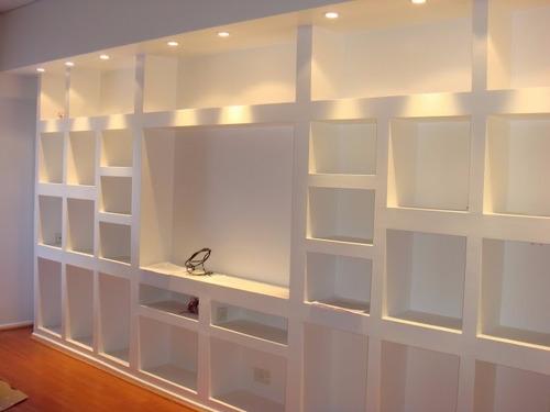 colocacion de durlock lam cielorraso pared muebles xm2