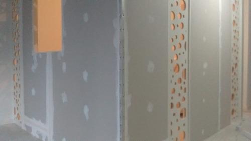 colocación de durlock x mt2  con materiales todo incluido