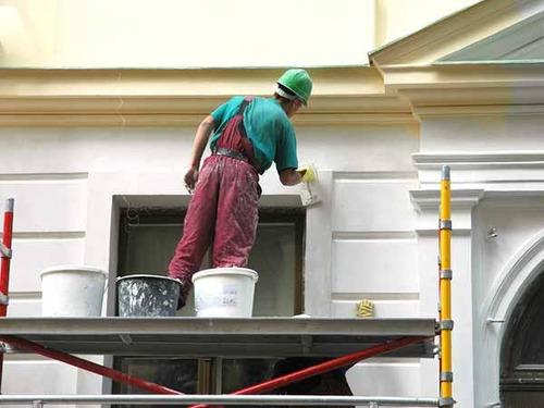 colocación de durlock y trabajos de pintura