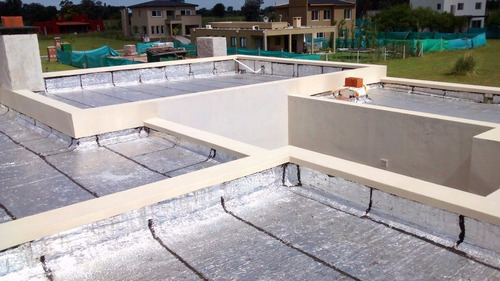 colocacion de membrana asfaltica aluminio no crack