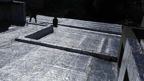 colocacion de membrana asfaltica con y sin aluminio ancar