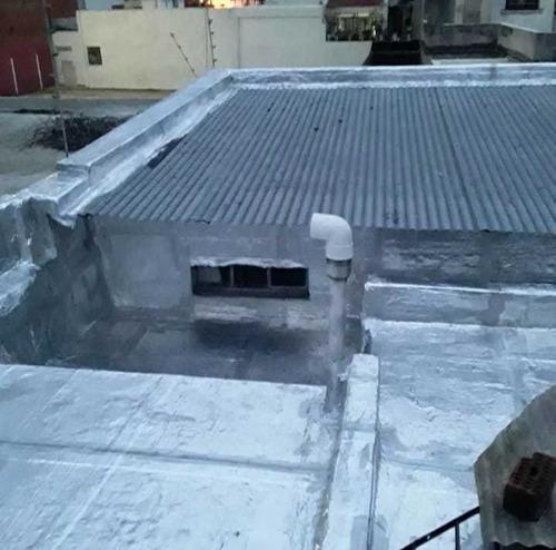 colocacion de membrana de 4mm $250 m2 sin material.095980995