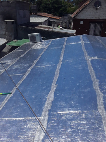 colocacion de membrana de 4mm $300 m2 sin material.094528477