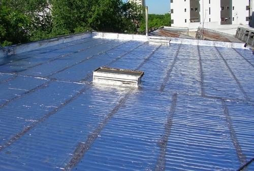 colocación de membranas, impermeabilización techos terrazas