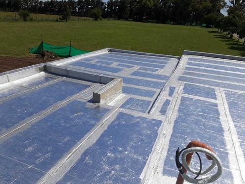colocacion de membranas - trabajos de alta calidad arquitech