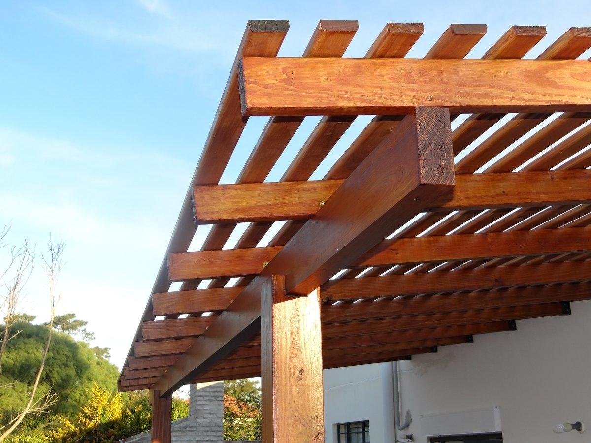 colocacion de techos con materiales with techo para pergola
