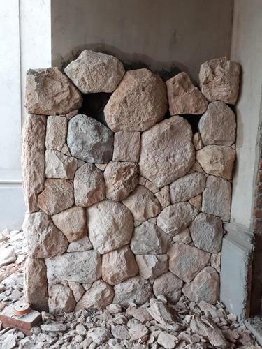 colocación de piedras naturales