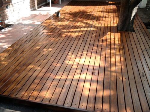 colocación de pisos flotantes y de madera. escaleras, deck