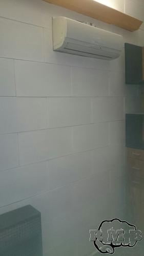colocacion de placas antihumedad con materiales completo