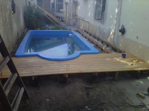 colocacion deck de madera sistema clips o grampa