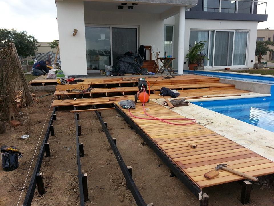 Como hacer una pergola de madera pergolas with como hacer - Como construir una pergola de madera ...