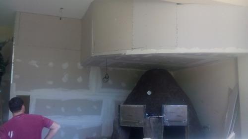 colocacion durlock, cielo rasos tabiques muebles pintura