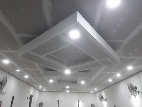 colocación durlock m2 mano de obra con materiales de primera