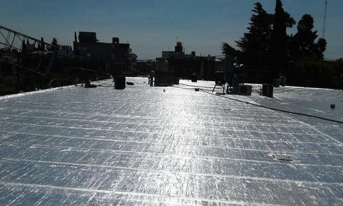 colocación membranas asfalticas 4 mm zona oeste capital