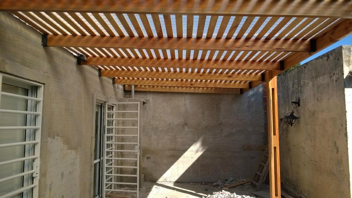 Techos de pergolas simple techos pergolas deck cargando - Techos de pergolas ...