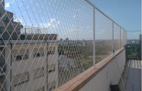 colocacion redes, redes proteccion, redes cristal, palomas,
