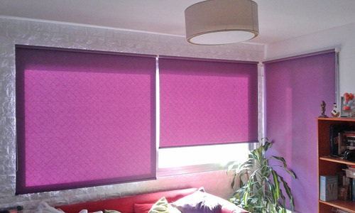 colocacion / service y limpieza de cortinas roller y romana