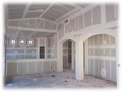 colocación techo y pared en durlock - placa anti humedad