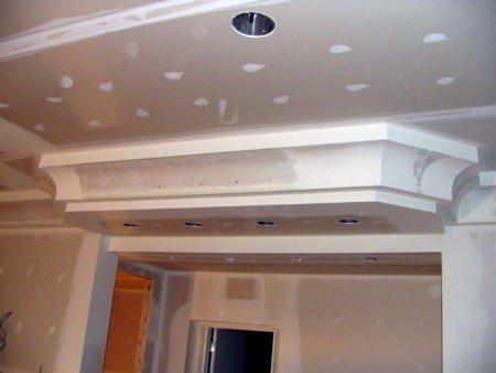 colocación techo y pared en durlock - placa antihumedad