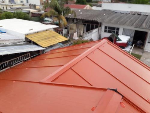 colocación techos livianos techos chapas techos isopaneles