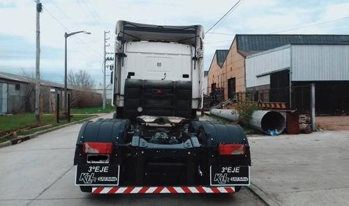 colocacion tercer eje mayor capacidad carga toneladas
