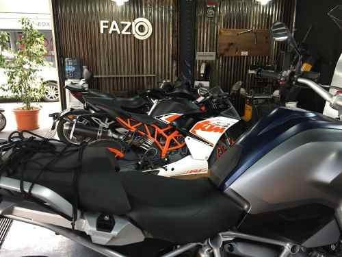 colocación y balanceo ruedas de moto en fazio!