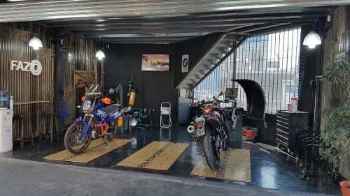 colocación y balanceo ruedas de moto en fazio palermo