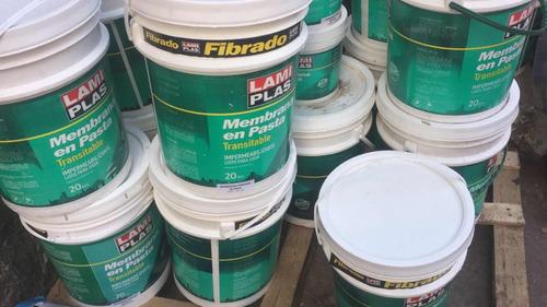 colocación y venta membranas lamiplas 6 cuotas de fabrica!