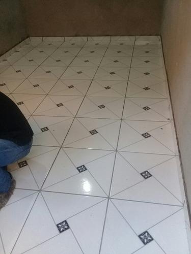 colocação de piso cerâmica