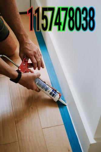 colocador porcelanato ceramica zocalo pvc madera aluminio