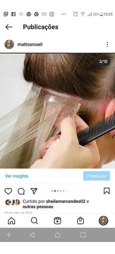 coloco cabelo e faço manutenção em todos os métodos