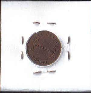 colombia 10 centavos 1901 lazareto jer374.01