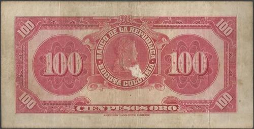 colombia 100 pesos 1 ene 1950 bgw288