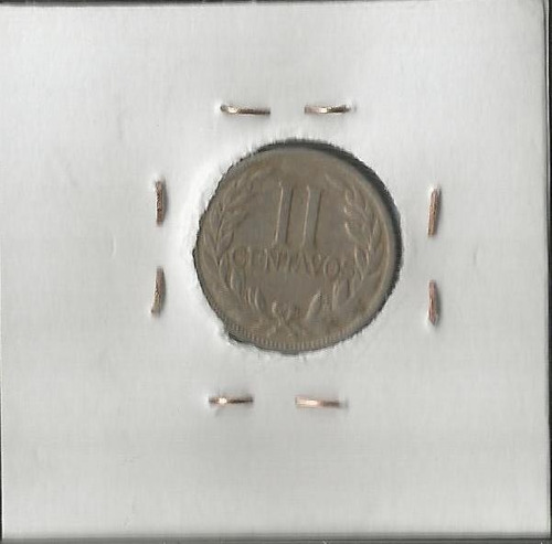 colombia 2 centavos 1933 jer354.06