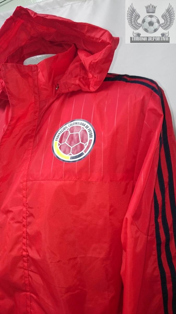 Cargando zoom... chaqueta seleccion colombia oficial 2015 entrenamiento roja 3c0ddb14f351c