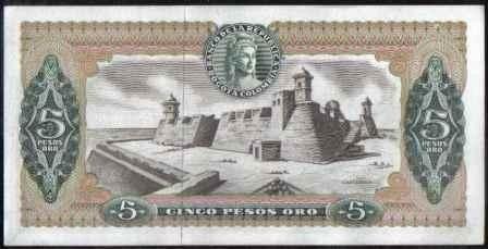 colombia 5 pesos 20 jul 1968 bgw134