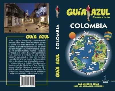 colombia guía azul(libro viajes)